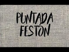 PUNTADA FESTÓN - TUTORIAL - PASO A PASO - YouTube