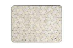 6 Large Placemats Art Deco Placemats Retro Place by EInderDesigns
