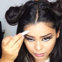 makeup mini tutorial by @alvajay  #motivescosmetics #shophudabeauty #mua#pressplay  #lasplashcosmetics #videotut #maccosmetics #NARS #meltcosmetics #beautyblender #mac #dior #makeupvideo #tutorial #anastasiabeverlyhills #urbandecay #hair #brows #hairstyle #haircut #hairtutorial #girl #макияж #мейкап #доипосле #beforeandafter #chanel  #beauty #beautyblogger #halloween via @angela4design by makeupvideotut