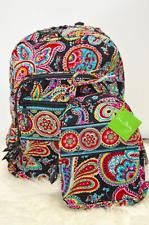 Vera Bradley Campus Backpack lunch bunch bag parisian combo fast shipping