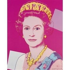 Queen Elizabeth II of the United Kingdom | Andy Warhol, Queen Elizabeth II of the United Kingdom (1985)