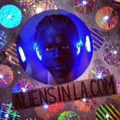 Vance Fannin as Eye for Aliens in LA. #aliensinla #vancefannin #cosplay aliensinla.com