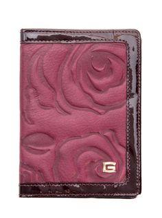 Passaporto-Leather Passport Cover-Plum Burgundy