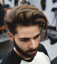 andrewdoeshair short sides long hairstyle for men