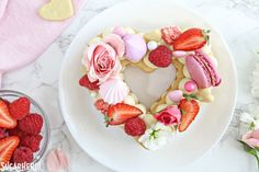 Trendy Cream Tarts are all the rage! Also known as cream biscuits or cream cakes, you can cut them into letters, numbers, or shapes, and decorate them with fruits, flowers, and candies.   From SugarHero.com