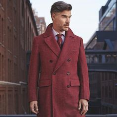 "isaia - ""  As the temperature drops, it's the layer people see you in the most. Make your coat count. #IsaiaNapoli  """