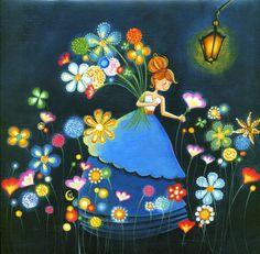 Pinzellades al món: Flors en primavera: alegria al camp