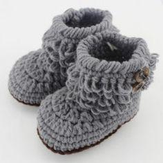 Baby Crochet Boots $7.00