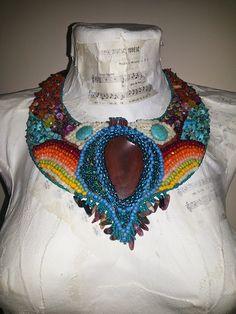 Mirela Mohjazi Handmade: Cheerful necklace/colier vesel si mustacios cu fel...