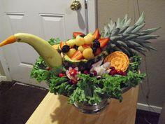 Pineapple and squash bird
