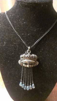 Pendant necklace by SophiaEmmeline on Etsy, $15.00