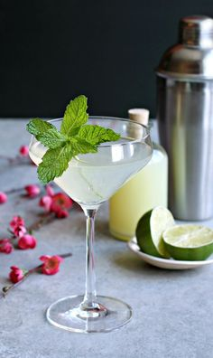 Minty Ginger Mule Cocktail recipe