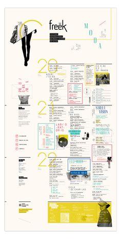 Freëk Fest - Moda y Diseño de Autor - Programación by Laura Guarie, via Behance