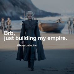 The ultimate #BOSSBABE ? #gameofthrones