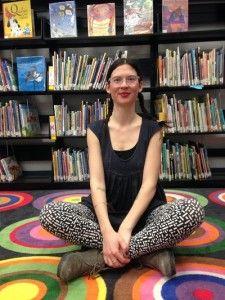 Liz Phipps-Soeiro turning the school library into a community hub!