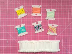A Handy Tip for Sending and Storing Washi Tape Samples
