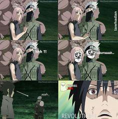#wattpad #humor Principalement des memes (d'animés) ou images (d'animés) qui moisissent dans ma galerie... PS : Je ne sais pas faire un résumé donc vous fiez pas à ça .-. Créé le 6 Mai 2018 #173 DANS LA CATÉGORIE HUMOUR LE 8 MAI 2018 !? #74 dans la catégorie humour le 1er Juin ;p #48 dans la catégorie humour le 22... Sasuke Sakura Sarada, Manga Naruto, Kakashi Sensei, Naruto Sasuke Sakura, Naruto Comic, Naruto Cute, Naruto Shippuden Sasuke, Gaara, Itachi