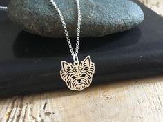 York - Yorkshire terrier naszyjnik srebrny - LuxoroDesign - Naszyjniki srebrne