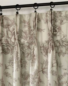 French Country Curtains LR