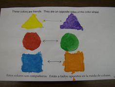 Zilker Elementary Art Class: First Grade Color Books