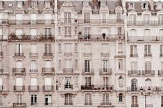 Parisian buildings.  explorier