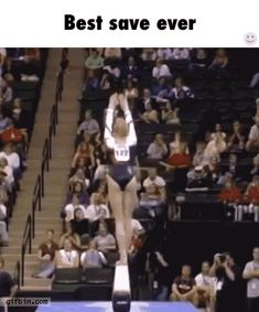 Bruh, she should win a gold Olympic medal just for that