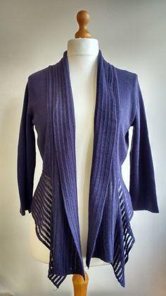 Linen cardigan, natural,blue, linen blazer, linen shrug, linen and cotton, knitted linen, linen knitwear, linen clothing VandSHandmade Etsy by VandSHandmade on Etsy