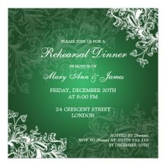 >>>Low Price          	Wedding Rehearsal Dinner Vintage Swirls Green Personalized Invite           	Wedding Rehearsal Dinner Vintage Swirls Green Personalized Invite This site is will advise you where to buyShopping          	Wedding Rehearsal Dinner Vintage Swirls Green Personalized Invite to...Cleck link More >>> http://www.zazzle.com/wedding_rehearsal_dinner_vintage_swirls_green_invitation-161595474795696790?rf=238627982471231924&zbar=1&tc=terrest
