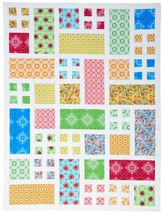 (7) Name: 'Quilting : PATIO pdf quilt pattern