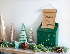 DIY Dear Santa handl