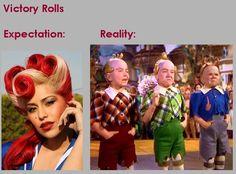 victory rolls