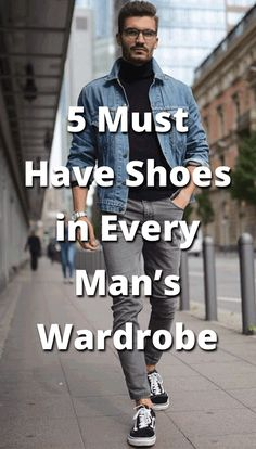 Shoes-5 Must Have Shoes in Every Man's Wardrobe
