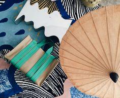 Costanza Beach Club Canvas Sandy Goat Mint / tote bag green /