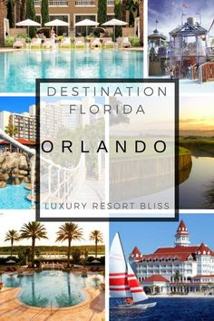 Luxury resorts Orlando - great for golf, theme parks and relaxation. Orlando Travel, Orlando Resorts, Orlando Vacation, Vacation Resorts, Florida Vacation, All Inclusive Resorts, Disney Vacations, Vacation Trips, Florida Fl