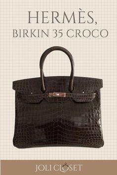 f620c3c7ebe6 Birkin 35 Croco. The Hermès Birkin bag ...