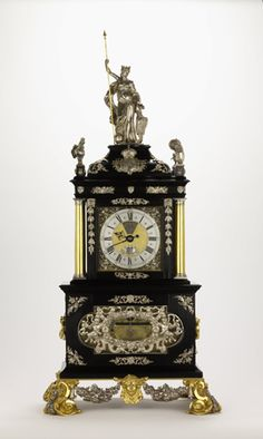 Created by celebrated London clock-maker, Thomas (the Mostyn) Tompion Clock was produced to celebrate the coronation of joint monarchs King William III and Queen Mary II in 1689 Thomas Tompion was a French Protestant Huguenot refugee