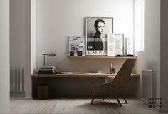 nice home office