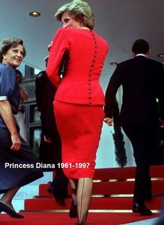 January 1988 Princess Diana during a visit to the Australian Parliament in Canberra.