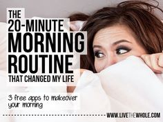 Use this tech savvy 20 minute morning routine to kick start your body, mind, and soul and live your best life. Best part? Totally free!