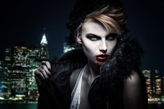 Vampire Beauty by SamBriggs.deviantart.com on @DeviantArt