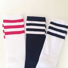c295422ca Knee High Socks - Stripe Knee High Socks - Baby