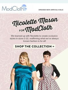 Drum roll, please! Our latest fashion collaboration is... - Modcloth