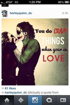 Harley Quinn and The Joker... Cute couple