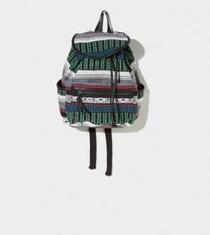 AEO Printed Canvas Backpack   the bag I just got for college>>>