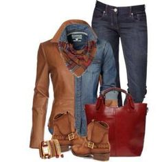 A fashion look from September 2014 featuring Express jeans, Ravel boots and Costilde handbags. Browse and shop related looks. Winter Fashion Casual, Fall Winter Outfits, Autumn Winter Fashion, Fall Fashion, Passion For Fashion, Love Fashion, Fashion Ideas, Casual Outfits, Fashion Outfits