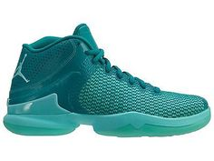 buy online 7a9ce a67bd Nike Jordan Super.Fly 4 PO Mens 819163-303 Rio Teal Basketball Shoes Size