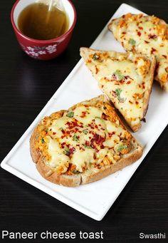 paneer cheese toast