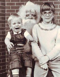 Weird old Santa.