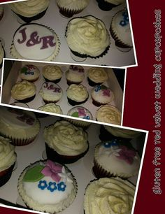 #wedding #gf #gluten #free #redvelvet #red #velvet #cupcakes for a very special youbg lady