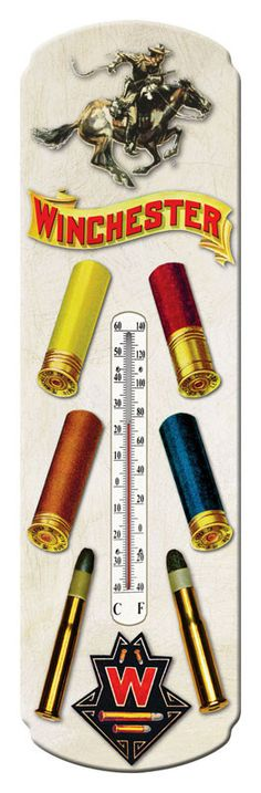 Winchester Rifle Ammunition Thermometer 1374 | Buffalo Trader Online